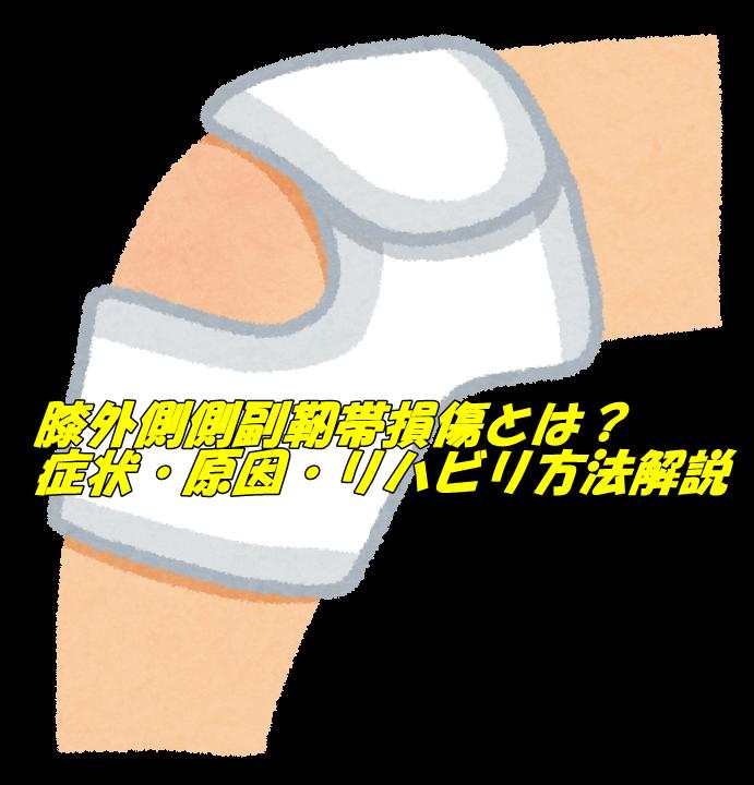 膝外側側副靭帯損傷
