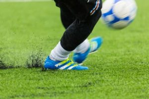 サッカーの怪我